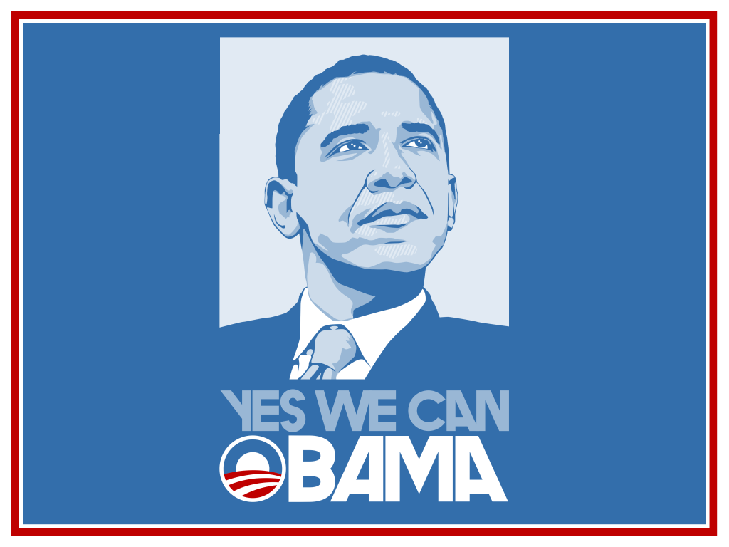 High quality obama wallpapers and signs obama media for Bett yes we can